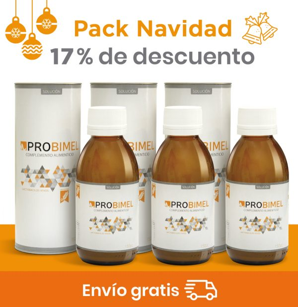 Pack 150 cl Probiótico natural