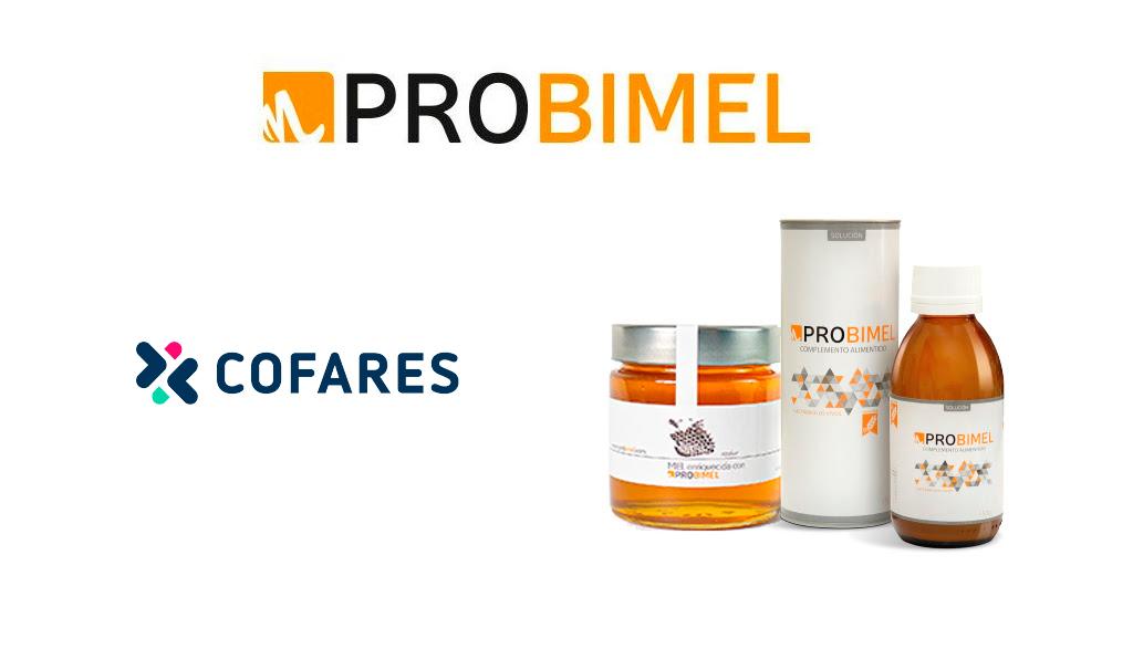 cofares distribuidora probioticos naturales probimel